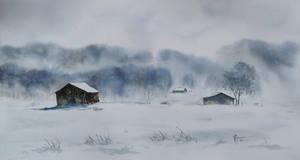 Zadymka/Blizzard by sezarka