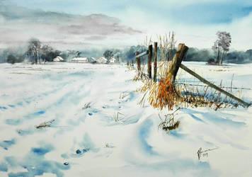 Polish winter by sezarka