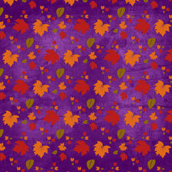 Purple Texture Colored Leaves 2 by rosebfischer