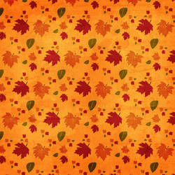 Orange Textured Leaves 3 by rosebfischer