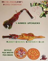 MichelangeLOW weapons by tOkKa