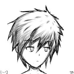 Random dude by Xooku