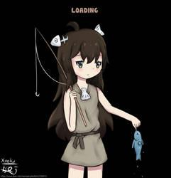 A Girl Adrift by Xooku