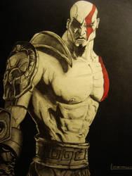Kratos2 by Pamanes14