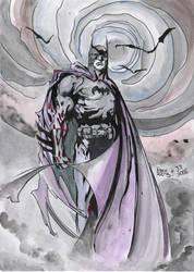 Batman by BlueVagabond