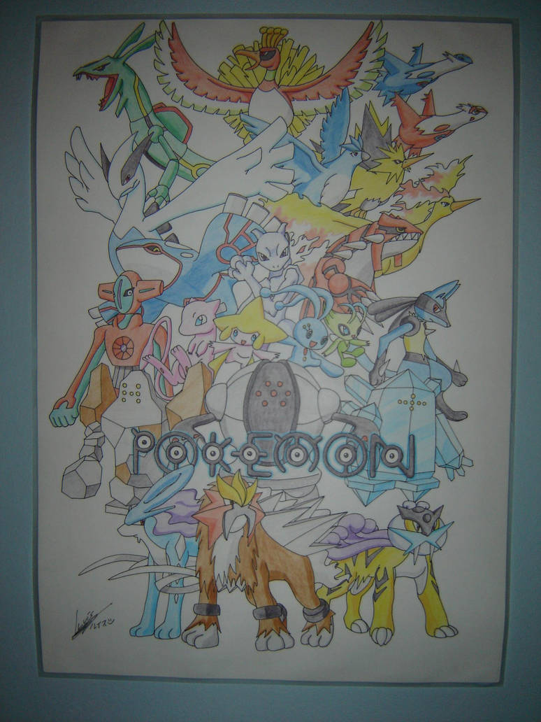 Pokemon Legendarios By Miles Prower Fox On Deviantart