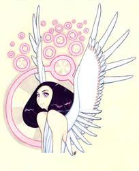 Angel - an illustration by J-Juno