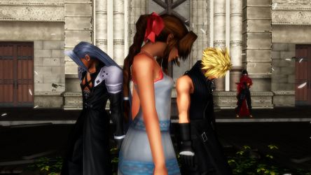 MMD FinalFantasy VII Breeze by lizmina