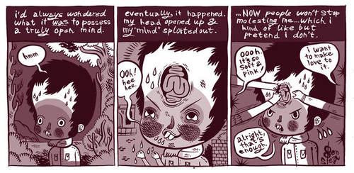 Open mindedness. by BenjaminCee