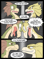 Drex and Tryx - Battle it out! - Page 1 by Ferroth