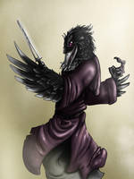 Nynith the Crow by Ferroth