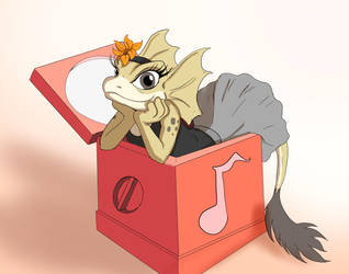 Tryx - the little Music Box dancer by Ferroth