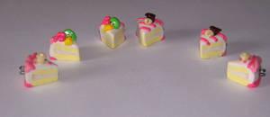 Creamy sugar birthday cake by PookieTookieJewelry