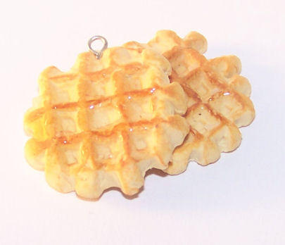 Belgian Sugar Waffles by PookieTookieJewelry
