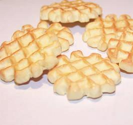 Liege Sugar Waffle Charms by PookieTookieJewelry