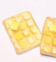 New honey waffle design by PookieTookieJewelry