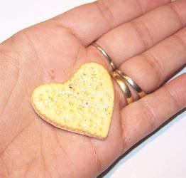 Salt and Pepper cracker charm by PookieTookieJewelry