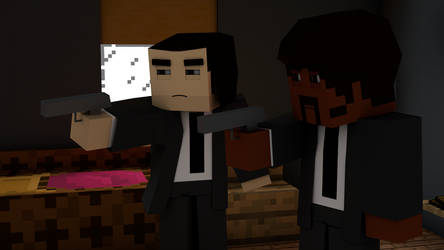 [Minecraft] Pulp Fiction by Paranoia3460