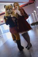 Lisa with Kana Otonashi by Aoi-the-kitsune