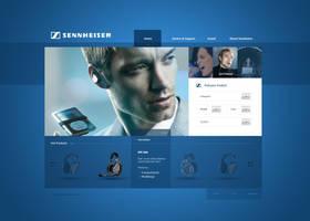 Sennheiser Re-Design by Tropfich