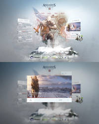 Assassins Creed 3 Re-Design by Tropfich