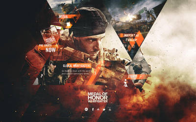 Medal of Honor Warfighter Re-Design by Tropfich