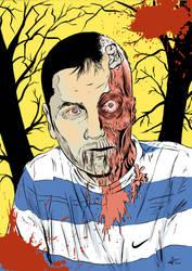 Friend submission zombie by JLRincon