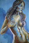 Bluewoman by JLRincon