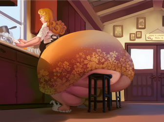 Rotund Ranch Roundup: Leanne by 0pik-0ort