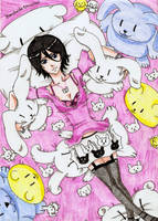 Portait Chappy-fan Rukia Kuchiki by Devi-chans-Art