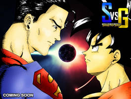 Superman Vs. Goku by SilentSable