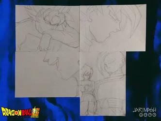 Nuevos bocetos de mi adaptacion del manga by jarimasu