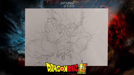 Ultimo boceto de mi adaptacion del manga de Super by jarimasu