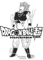 Goku ssjblue controlado -estilo manga- by jarimasu