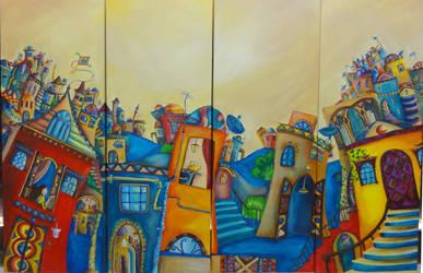 invisible city by yaldIz