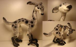Grey woolcreature by Ulltotten
