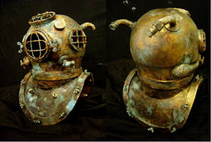 Diving helmet by Ulltotten