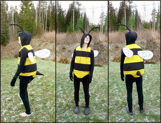 Bumble bee costume by Ulltotten
