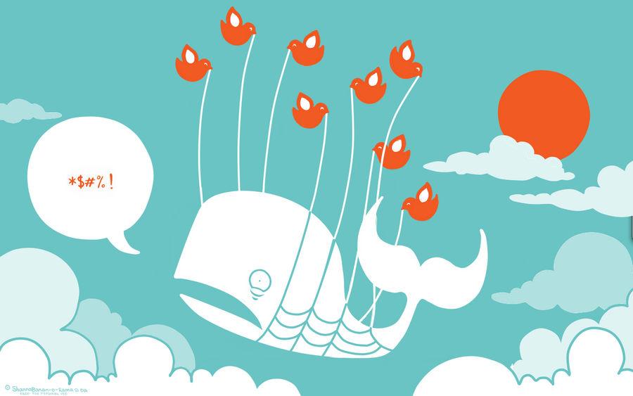 Twitter Fail Whale Wallpaper by ShannaBanan-o-rama