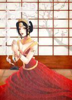 Sae's Prayer by CrimsonCobwebs