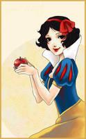 Snow White by CrimsonCobwebs
