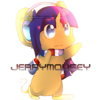 -Chibi Commission- Jerrymousey by Fierying