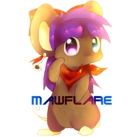 -Chibi Commission- Mawflare by Fierying