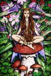 A Garden Fairy by Taurina