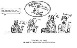 Phantom + American Idol by doodleplex