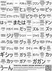 Digital Manga Sound Effect 2 by bakenekogirl