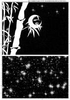 Screentones Starry Sky 4 by bakenekogirl