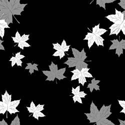 Maple Leaf - Saemless Pattern by bakenekogirl