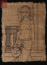 Kallias In Thermae Romae by bakenekogirl