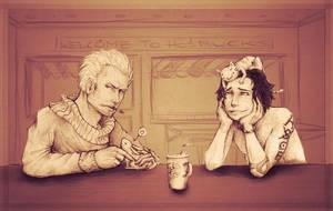 A Coffee Break by Hosio